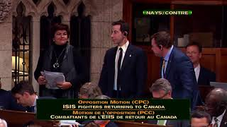 Why did Liberals vote no? // Pourquoi les Libéraux ont-ils voté contre ?