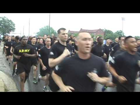 All American Week Day 1 Division Run 82nd Airborne Division 100th Anniversary