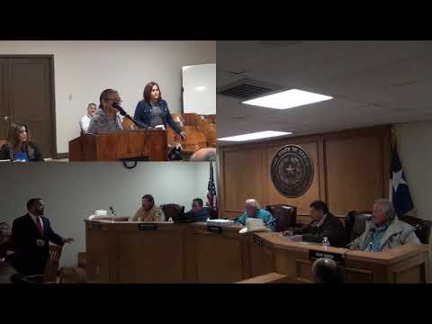 Starr County Commissioners Court 12-10-2018