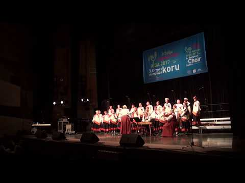 00087 Open Competition: Folklore with accompaniment (O10) 3rd European Choir Games 21.07.2017