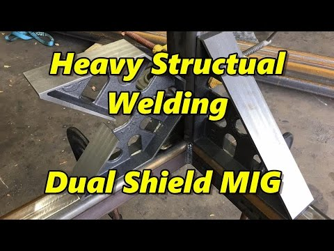 SNS 158 Part 2: Heavy Structural Welding, Dual Shield MIG