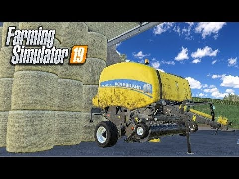 I LEARN HOW TO FLY A PALLET - Let's Play Farming Simulator 19 | Episode 46 thumbnail