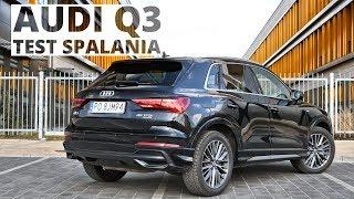 Audi Q3 2.0 45 TFSI 230 KM (AT) - pomiar zużycia paliwa
