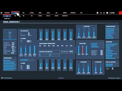 ABB´s New Marine Automation User Interface