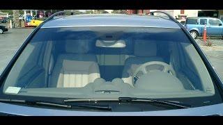طريقة المحافظة على زجاج السيارة الامامى من الخدوش