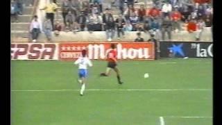 Real Mallorca 0 - Real Zaragoza 1 Temporada 89-90