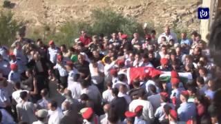 تشييع جثمان الشهيد جعفر الربابعة - (8-8-2017)