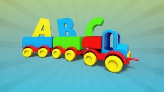 Alphabet With Train   Learning For Preschool Children   Educational Сartoon