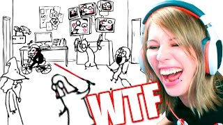 ANIMACION VERSUS - HUMOR ABSURDO | Video Reaccion