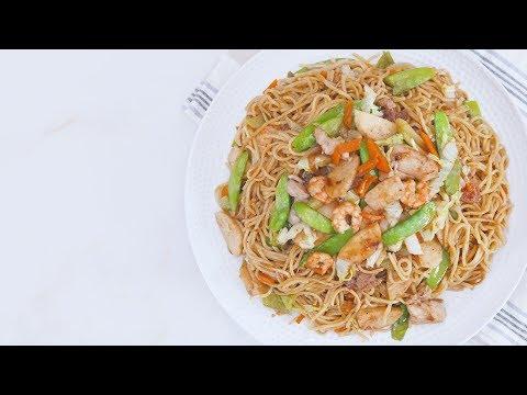 Pancit Canton (Stir Fried Noodles) | Yummy Ph