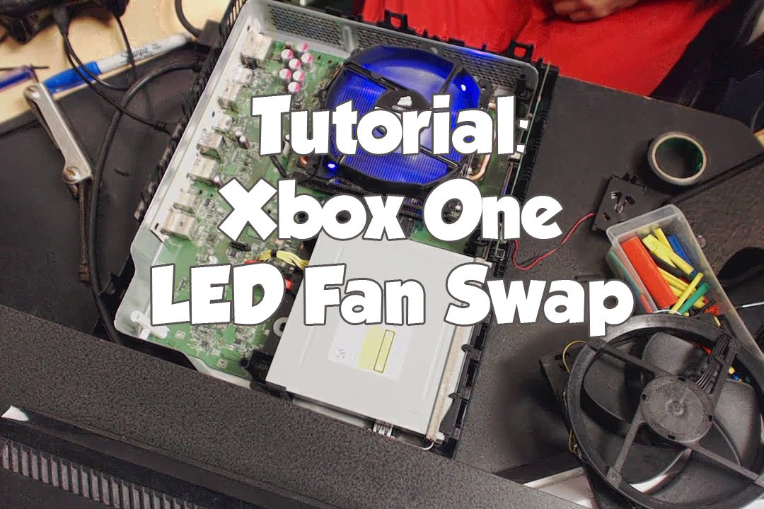 Tutorial: Xbox One Mod | Swap Stock Fan With LED Fan - YouTube on 4 wire computer fan diagram, 4 wire fan pinout, 4 wire ceiling fan diagram,