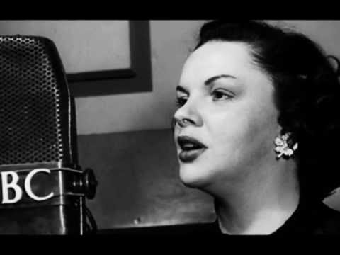 Judy Garland's 1st Live Radio Performance of