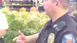 Open carry good police interaction Gonzales Texas