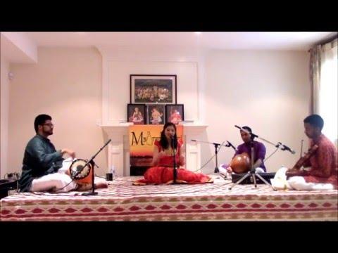 Maduradhvani Toronto 2016 series - Concert # 8 by Kum Shradha Ganesh May 14, 2016