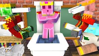 Monster School : BREWING KING IN MINCRAFT - Minecraft Animation