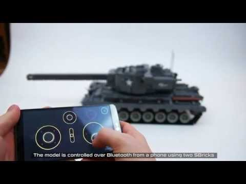 Lego Technic RC T29 Heavy Tank with shooting mechanism