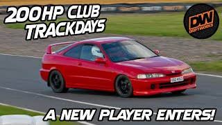 A new player enters 200hp club trackdays in a Honda DC2 Integra Type R