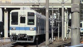 【フルHD】東武越生線 坂戸~越生 東武8000系 前面展望