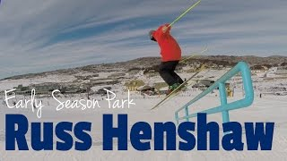 Perisher - Early Season lap with Russ