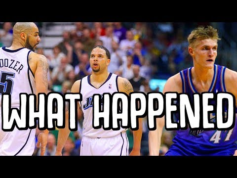 What Happened To The Deron Williams Carlos Boozer Utah Jazz
