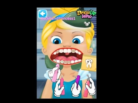 Dentist Games Filling Root Canal Crown Cavity Needed Dental Treatment On Tooth Patients Teeth Infect