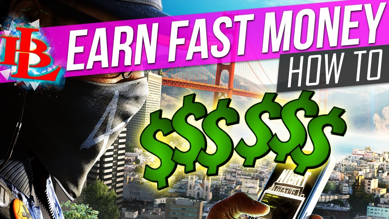 watch dogs 2 how to make money fast money in watch dogs 2 money bag youtube
