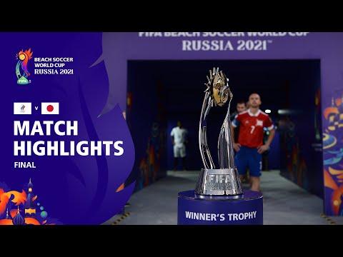 RFU v Japan | FIFA Beach Soccer World Cup 2021 Final | Match Highlights