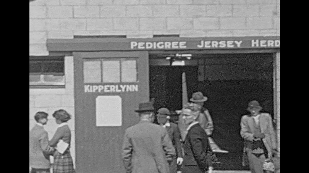 Life in Kipperlynn 1949  – Archive Footage