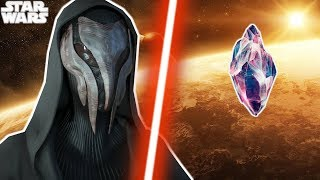 The LIGHTSABER The SITH Tried to DESTROY and Why - Star Wars Explained