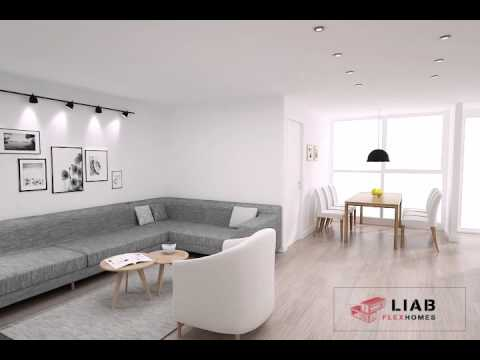 4 bedroom design 4 bedroom container home from liab flexhomes youtube