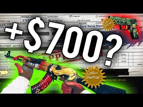 The New Most Profitable Trade Up? (CS:GO Crafting Rarest Skins + Gambling)