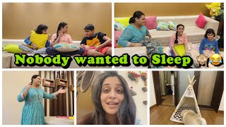 Kids in full Masti mood| A night full of their masti| Cuddle Finally got into his new house 😘 | DKI