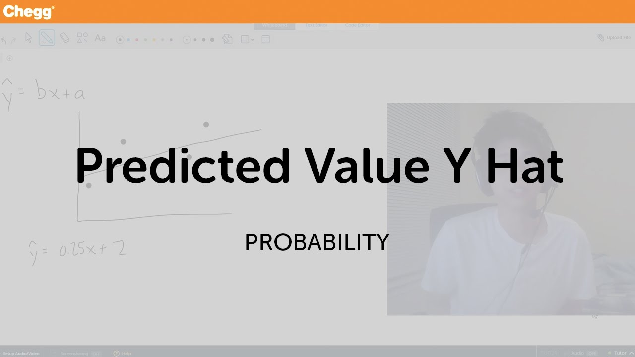 Predicted value y hat statistics and probability chegg tutors predicted value y hat statistics and probability chegg tutors biocorpaavc Images