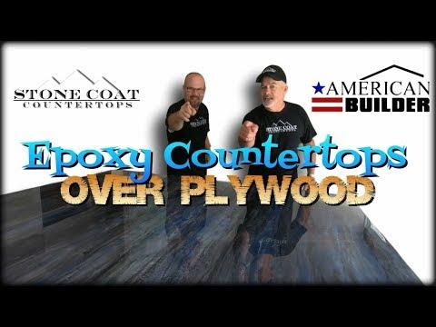 Epoxy Countertops Over Plywood American Builder