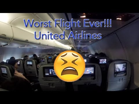 Worst Flight Ever   United Airlines   BWI to Houston