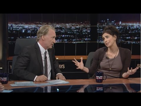 Bill Maher & Sarah Silverman Condescendingly Wag Their Fingers at BernieOrBust Voters