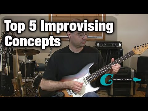 Top 5 Improvising Concepts