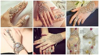Stunning Hand Jewelry/Haat Phool Designs Collection
