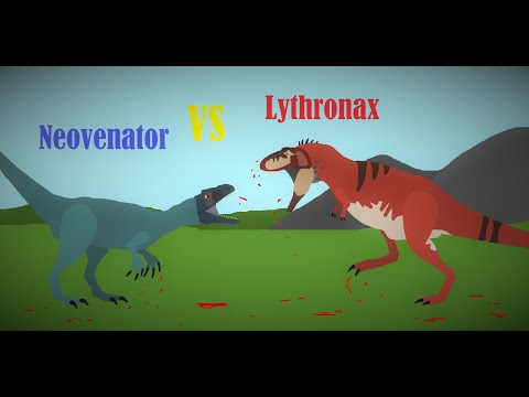 Neovenator Vs Lythronax