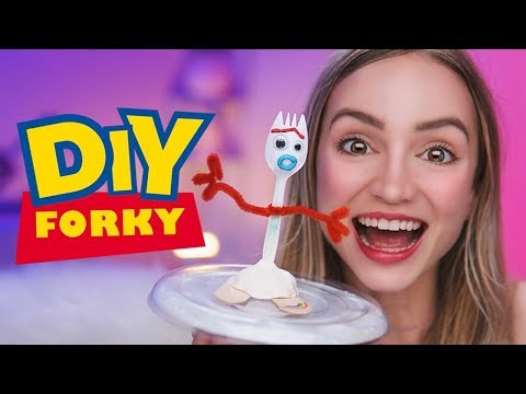 How to Make Forky from Toy Story 4 | Disney DIY