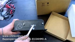 Обзор автомобильного видеорегистратора HikVision DS-8104HMI-A