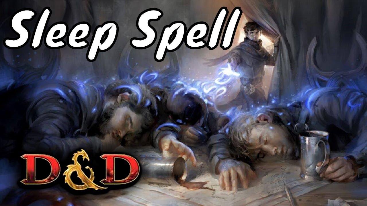D&D Spell (5e): Sleep