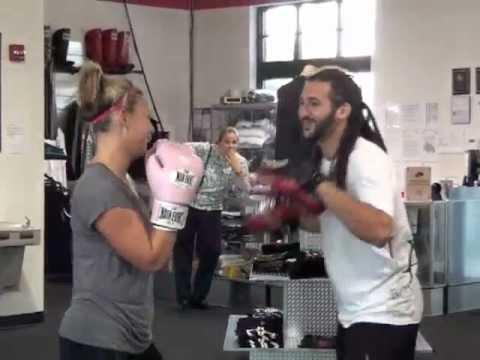 Zach's 1000-Calorie BAM-BAM-BAM Knockout Boxing Workout at LA Boxing Rockville