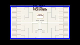 Blank printable bracket for men's NCAA Tournament 2018 | march madness 2018