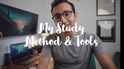 My Study Method + Revision Tools - Cambridge junior doctor