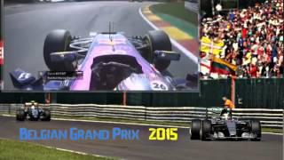 Формула 1  Гран При Бельгии 2015  Гонка Даниила Квята(, 2015-08-29T18:40:59.000Z)