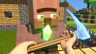Download Trading a Enchanted Hoe - Minecraft Animation Mp3 and Videos