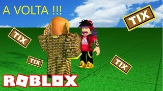 The BACK!!! TICKETS in 2018!!?? (Roblox)