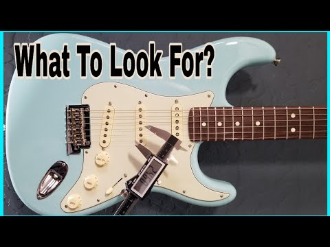How To Inspect A USED Fender Strat