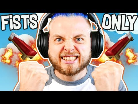 KILLING ALL TEAMS ONLY USING FISTS in BEDWARS!! W/AshDubh & Speedy